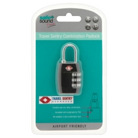 Safe and Sound - Travel Sentry Combination Padlock