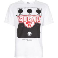 Mens AMPLIFIED White Kurt Cobain Amplifier Print T-Shirt*, White