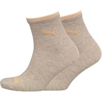 Puma Two Pack Classic Socks Off White