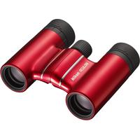 NIKON Aculon T01 10 x 21 mm Roof Prism Binoculars, Red