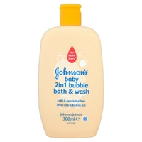 Johnsons Baby - 2in1 Bubble Bath & Wash - 300ml