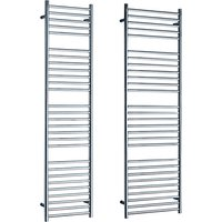 John Lewis & Partners Brook Standard Electric Heated Towel Rail