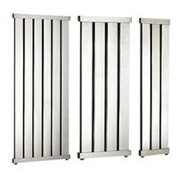 John Lewis & Partners Lyme Central Heated Towel Rail and Valves, from the Wall