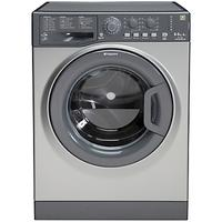 Hotpoint WDAL8640G Washer Dryer, 8kg Wash/6kg Dry Load, A Energy Rating, 1400rpm Spin, Graphite