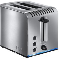 RUSSELL HOBBS Buckingham 20740 2-Slice Toaster - Stainless Steel, Stainless Steel