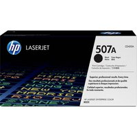 HP 507A Original Black Toner Cartridge, Black