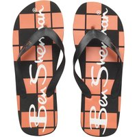 Ben Sherman Mens Atlantic Flip Flops Black