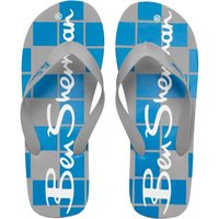 Ben Sherman Mens Atlantic Flip Flops Grey