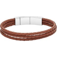 Fossil JF02683040 Mens Bracelet, Brown
