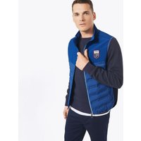 Le Mans Panel Quilted Gilet - College Blue