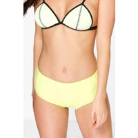 Mix And Match High Waist Brief - lime