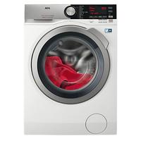 AEG L8WEC166R Freestanding Washer Dryer, 10kg Wash/6kg Dry Load, A Energy Rating, 1600rpm Spin, Whit