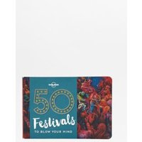 50 Festivals To Blow Your Mind Book, Assorted