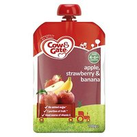 Cow & Gate Apple, Strawberry & Banana from 4-6m Onwards 100g