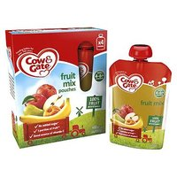 Cow & Gate Fruit Mix Pouches from 4-6m Onwards 4 x 100g (400g)
