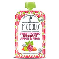 Piccolo Organic Sweet Potato, Beetroot, Apple & Pear Stage 1 100g