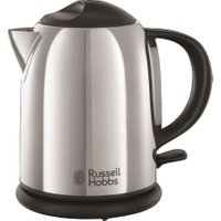 RUSSELL HOBBS Chester Compact 20190 Traditional Kettle - Stainless Steel, Stainless Steel