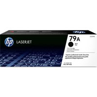 HP LaserJet 79A Black Toner Cartridge, Black