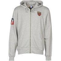 Helly Hansen  GRAPHIC FZ HOODIE  men's Sweatshirt in grey