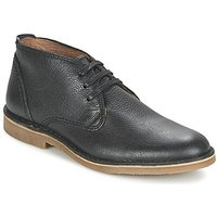 Selected  SHHNEW ROYCE LEATHER BOOT NOOS  men's Mid Boots in black