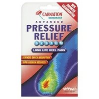 Carnation Footcare Advanced Pressure Relief System Long Life Heel Pads
