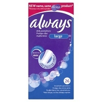 Always Daily 26 Pantyliners Large