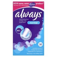 Always Daily 30 Pantyliners Normal