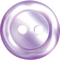 Groves Rimmed Button, 15mm, Pack of Five