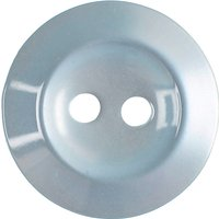 Groves Rimmed Button, 16mm, Pack of Five