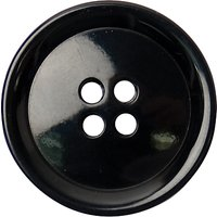 Groves Rimmed Button, 25mm, Pack of 3
