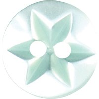 Groves Star Button, 12mm, Pack of 7