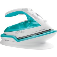 TEFAL Freemove Air FV6520G0 Cordless Steam Iron - Blue & White, Blue