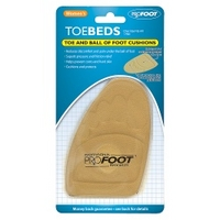 Profoot Women's Toebeds Foot Cushions 1 Pair